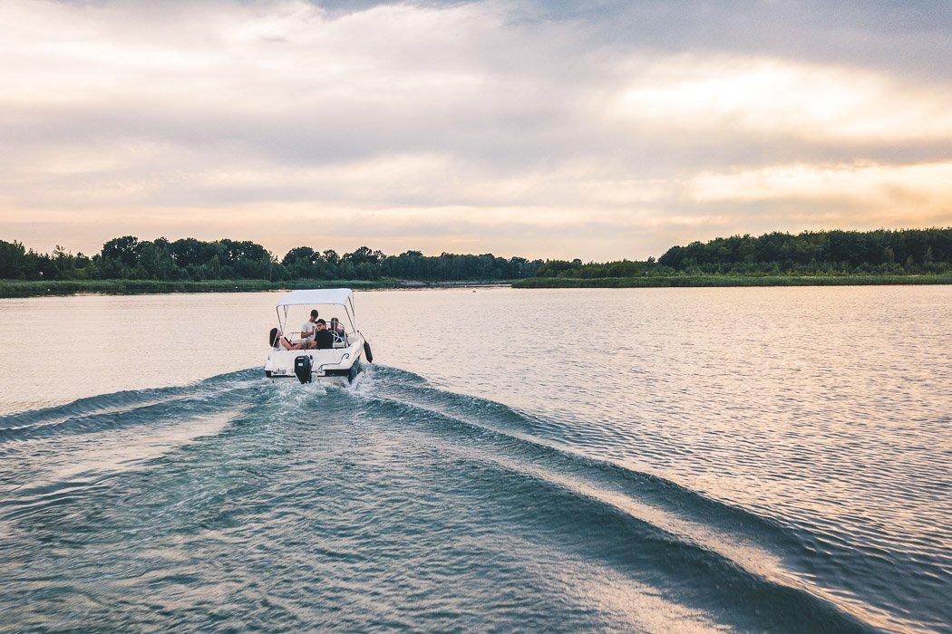 Lausitzer Seenland Boot