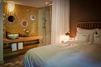 Zimmer im Bikini Hotel, Mallorca