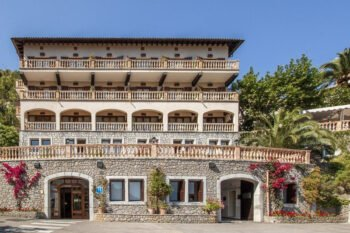Außenansicht des Hotel Es Molí, Mallorca