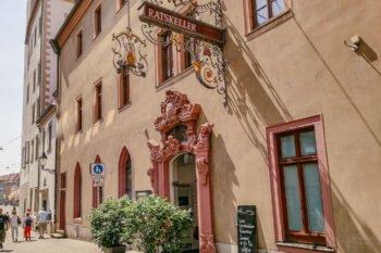 Die Langgasse in Würzburg