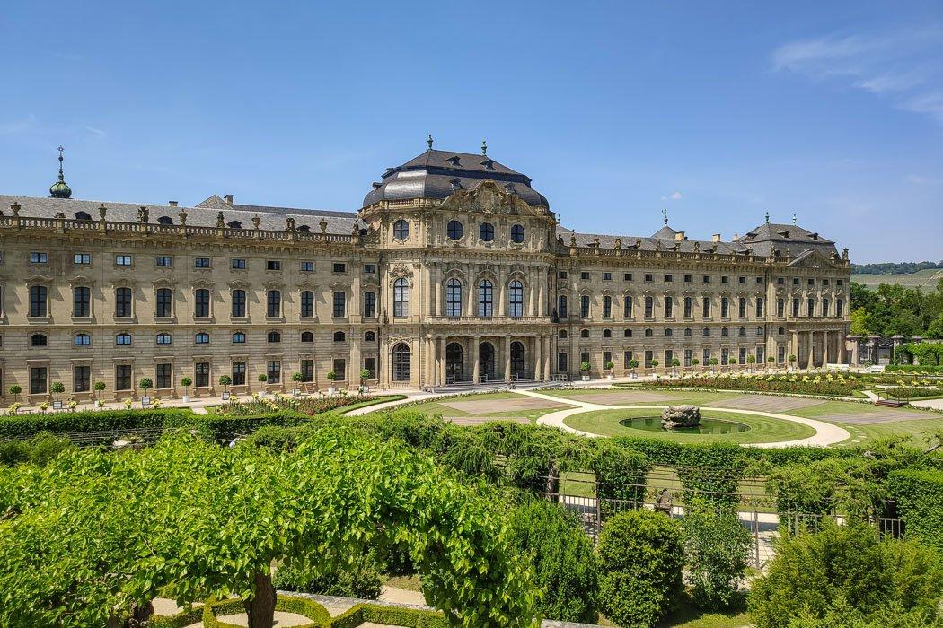 Hofgarten Würzburger Residenz