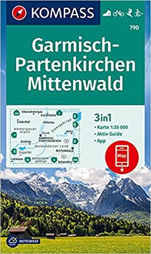 Kompass Reiseführer Garmisch-Partenkirchen