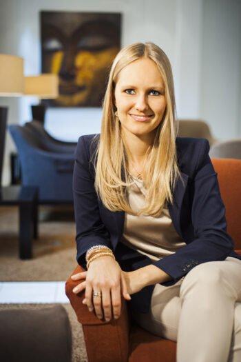 Carina Preuss, Inhaberin und Geschäftsführerin des Ayurveda Parkschlösschen