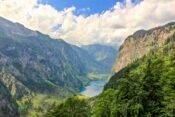 Blick auf den Obersee und Königssee