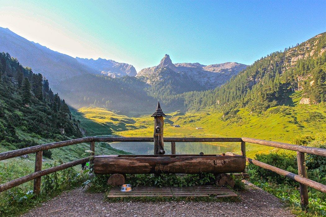 Der Funtensee im Nationalpark Berchtesgadener Land