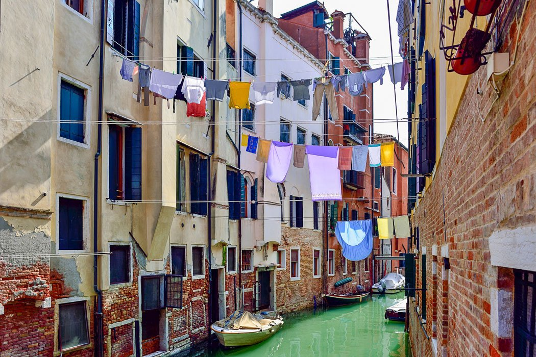 Kanal in Cannaregio, Venedig