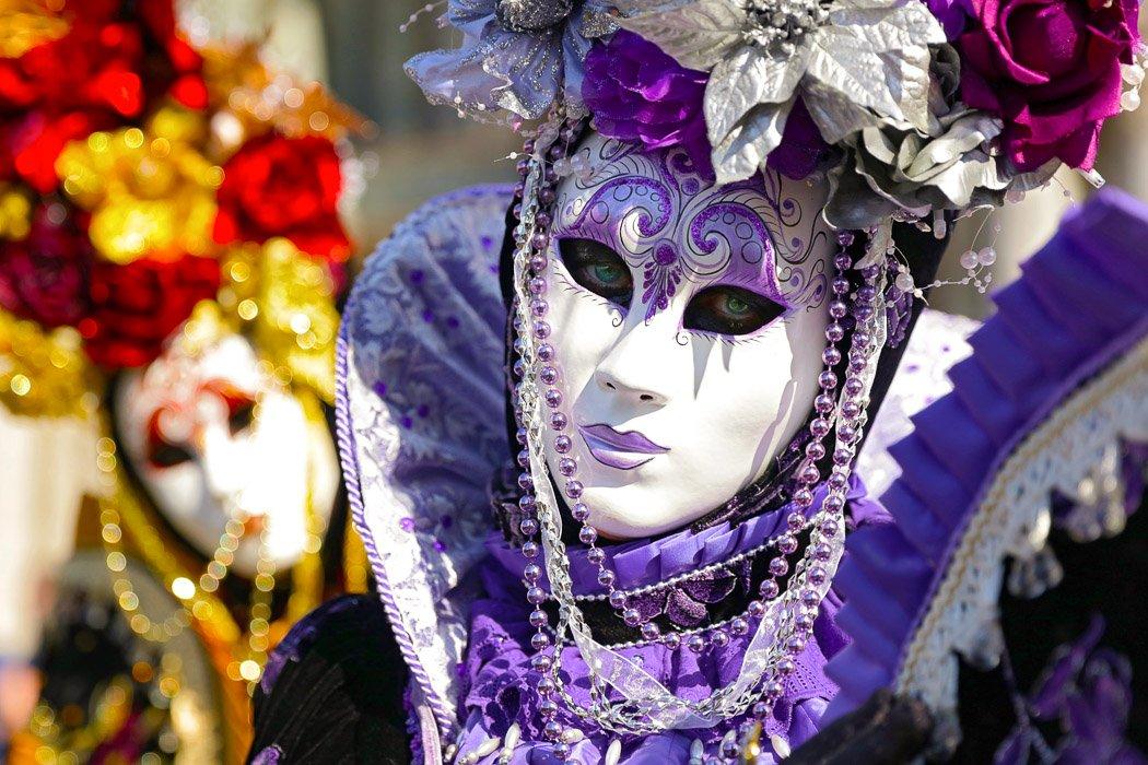 Venezianische Masken zum Karneval