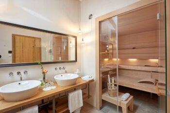 Sauna im Achental Resort
