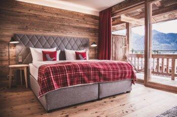 Zimmer im Achental Resort