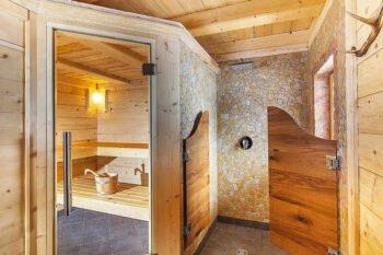 Sauna in der Alpenpension Ettlerlehen