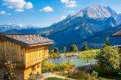 Aussicht Alpenpension Ettlerlehen