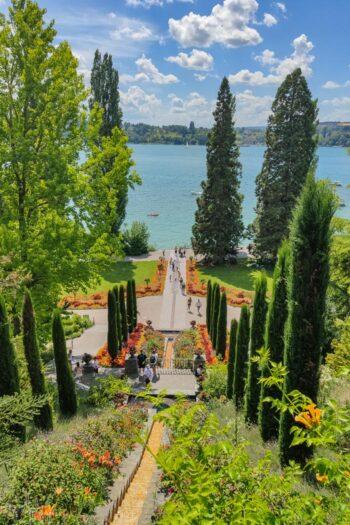 Die Blumenwassertreppe in Konstanz