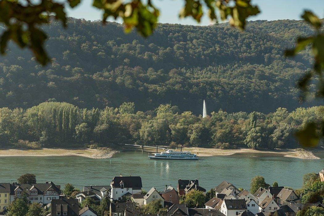 Geysir im Mittelrheintal