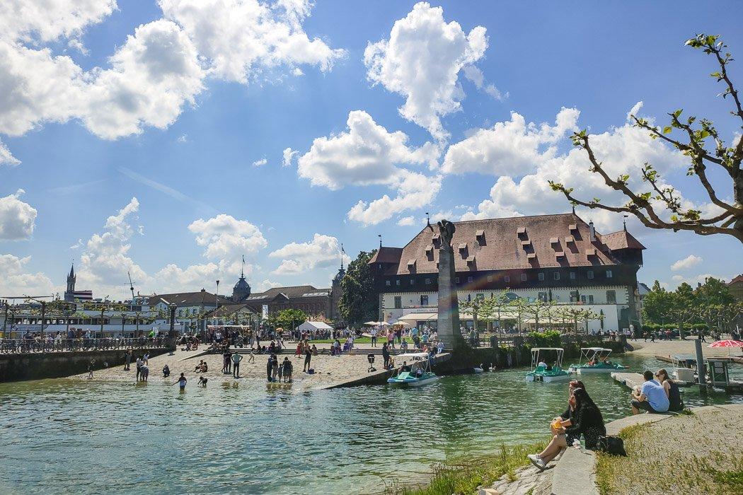 Der Hafen in Konstanz