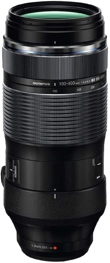 Olympus 100-400 mm, f/5-6.3