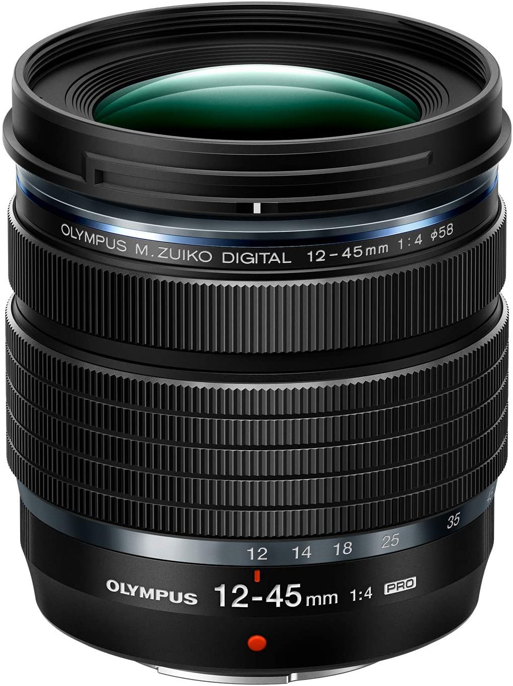 Olympus 12-45 mm, f/4