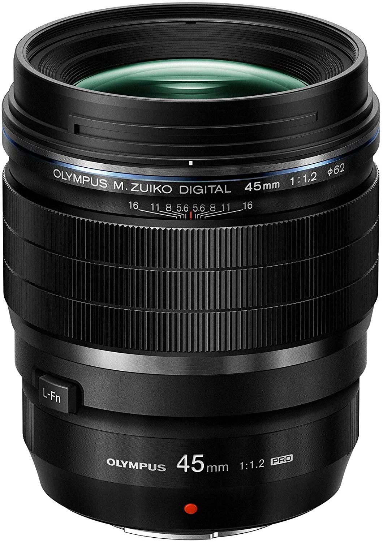 Olympus 45 mm, f/1.2