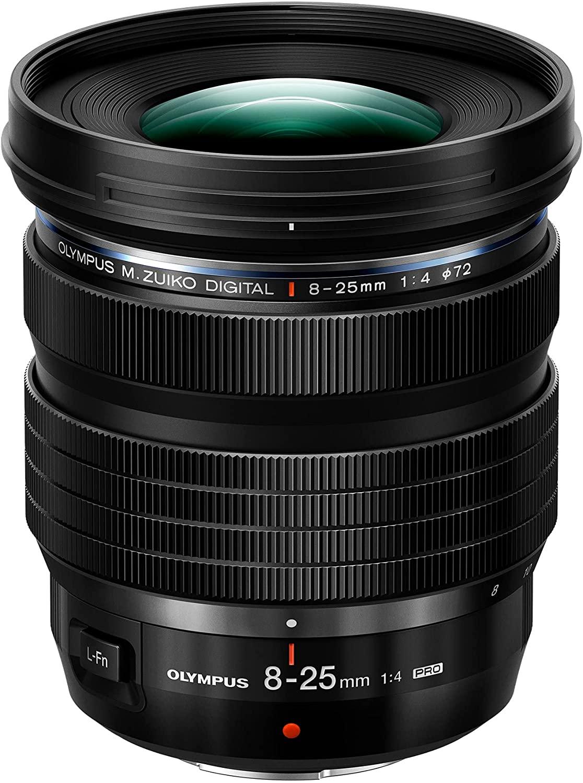 Olympus 8-25 mm, f/4