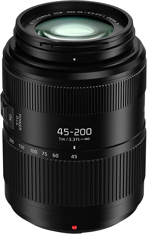 Panasonic 45-200 mm, f/4-5.6