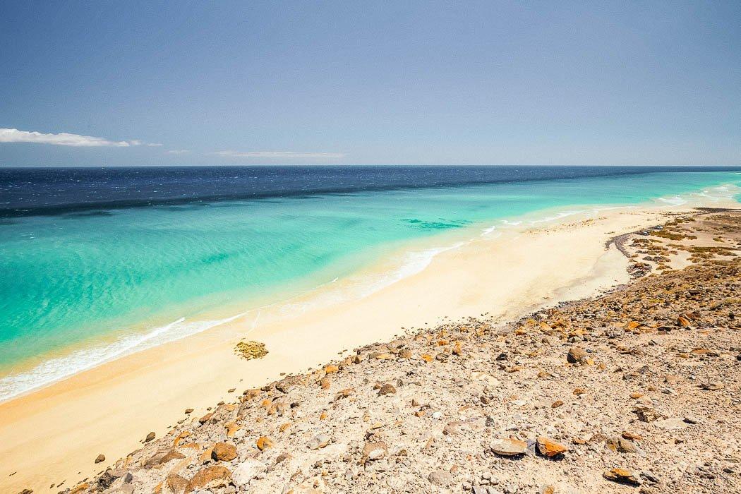 Playa de Esquinzo auf Fuerteventura