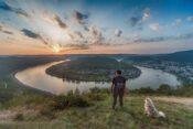 Die Rheinschleife bei Boppard