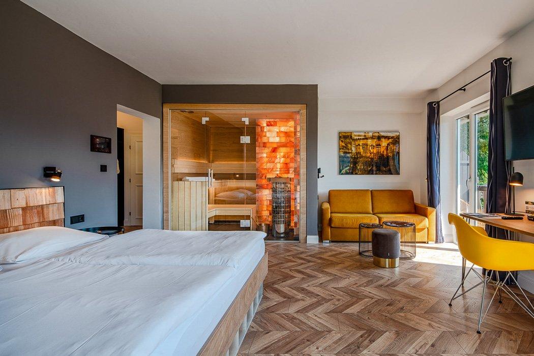 Sauna-Zimmer Villa Sonnenhof