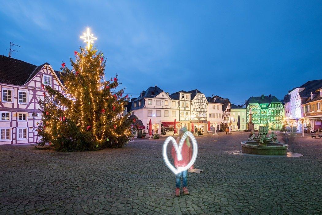 Weihnachtliche Stimmung im Mittelrheinthal