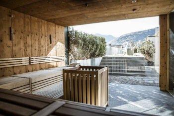 Sauna im Hotel Weisses Kreuz