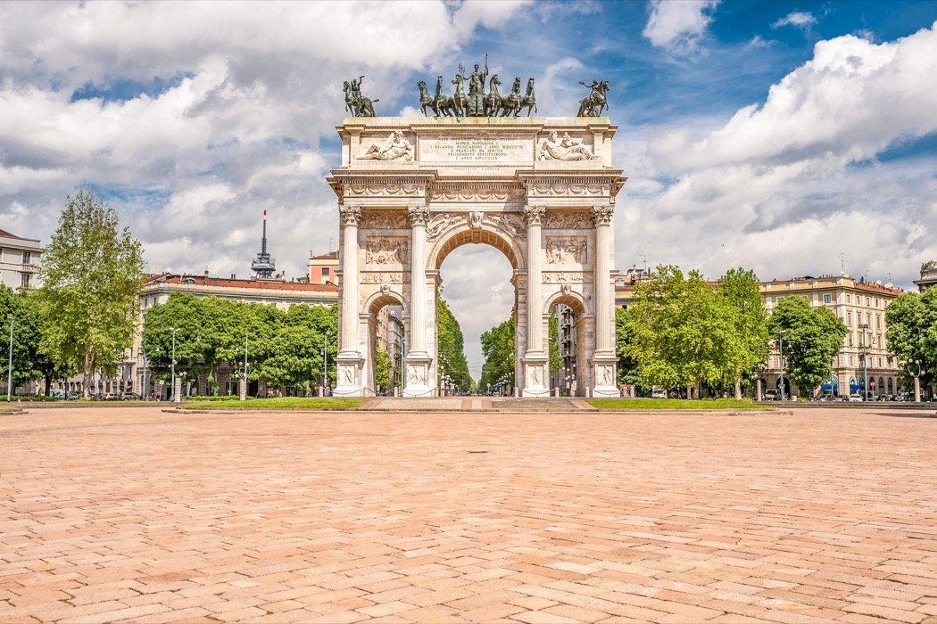 Arco della Pace Milan