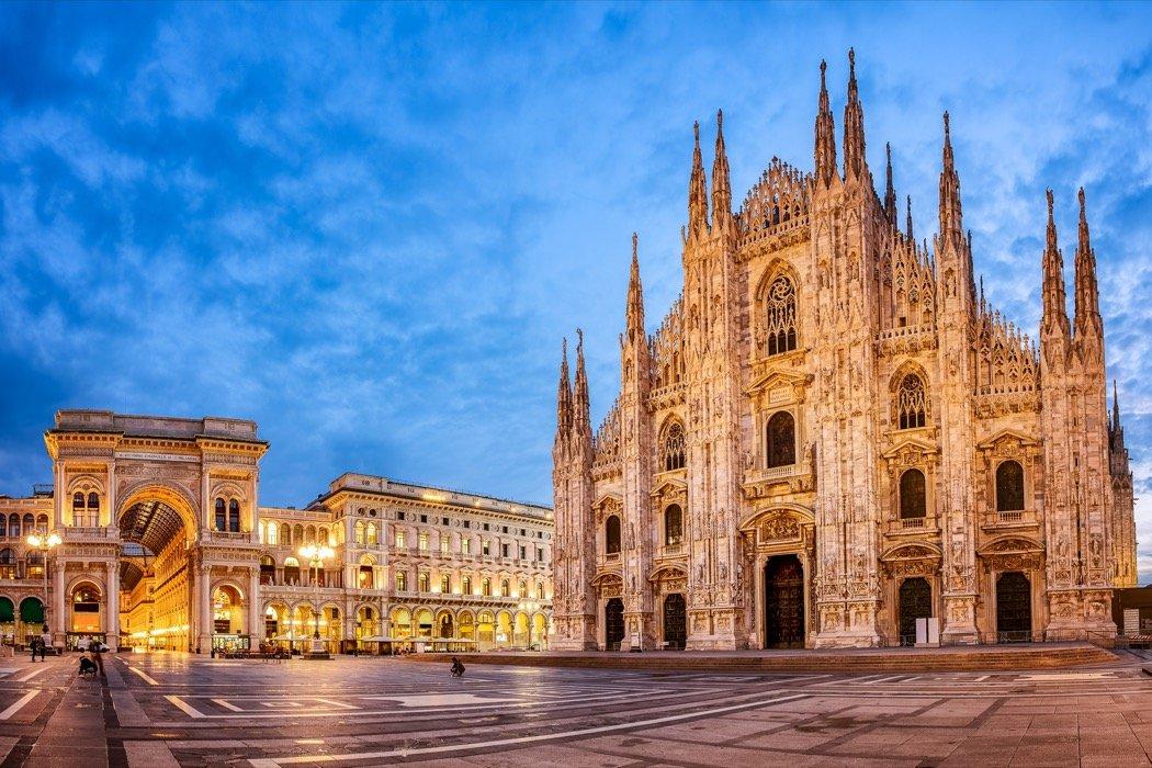 Mailand Domplatz