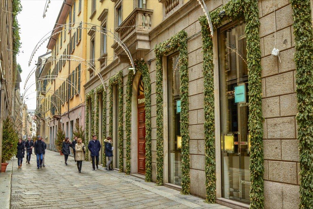 Modeviertel in Mailand
