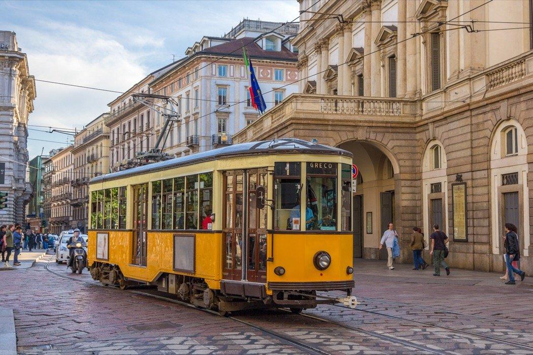 Alte Tramlinie 1 Mailand