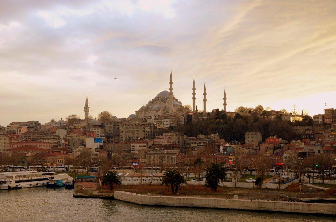 Blick von der Atatürk-Brücke