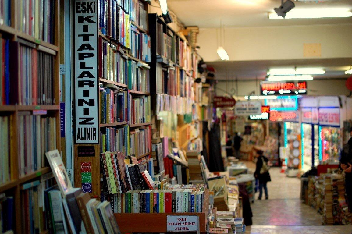 Bücherbasar Istanbul