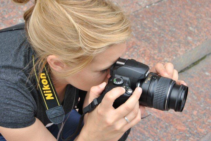 Jenny mit der Nikon D40