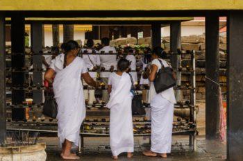 Pilger Anuradhapura