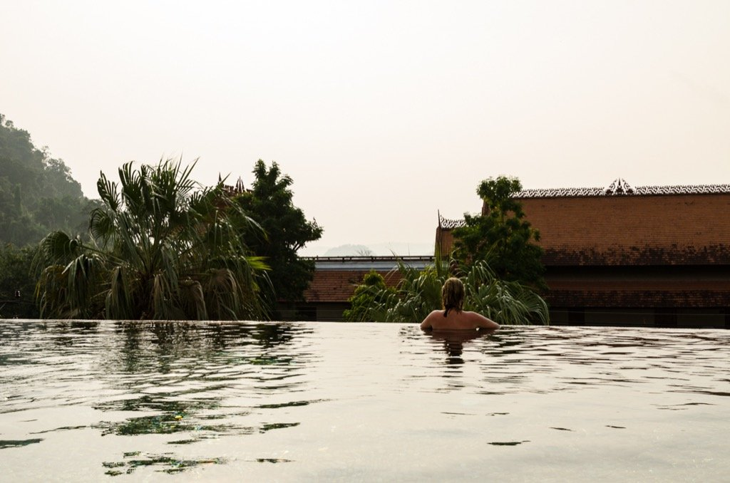 Infinity Pool Alisea Hotel