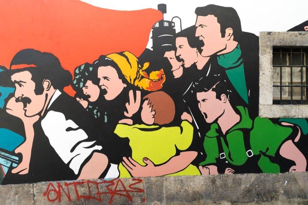 Streetart in Bairro Alto