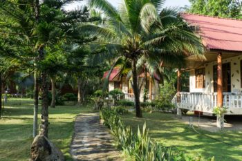 Gartenbungalows Bottle Beach 1
