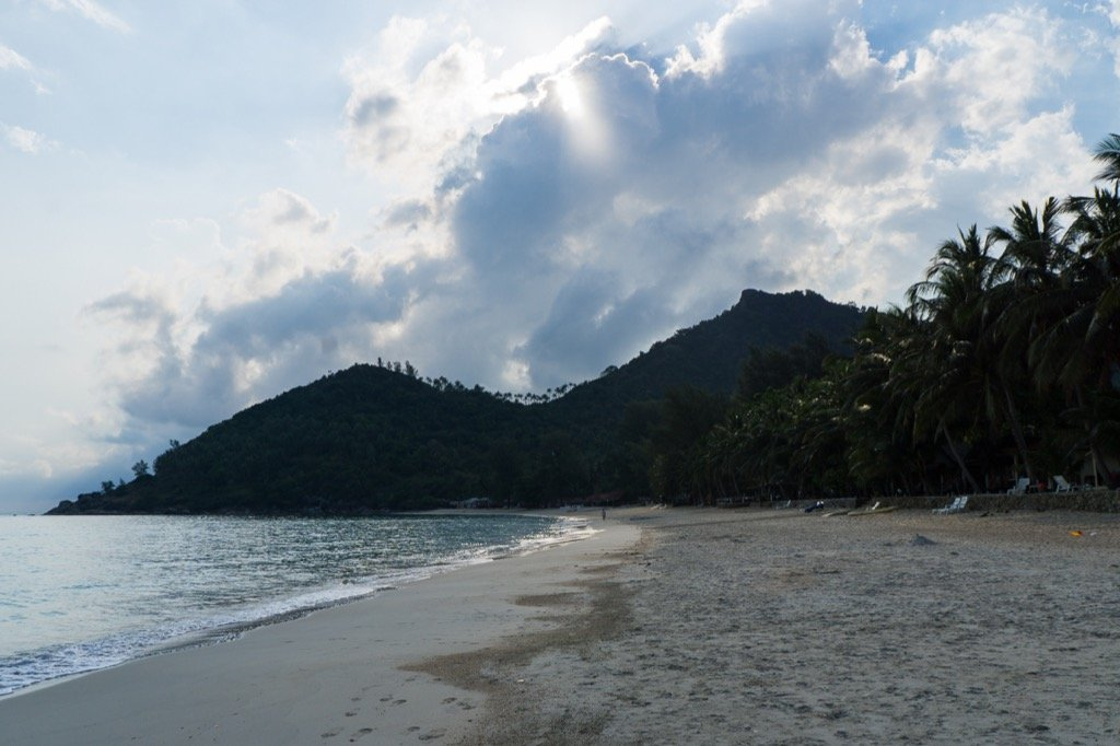 Nördliches Ende Bottle Beach