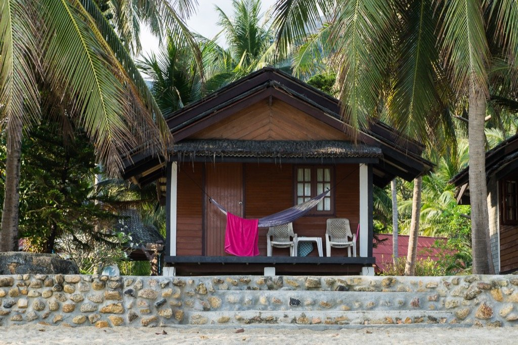 Bambusbungalows Bottle Beach Resort 1