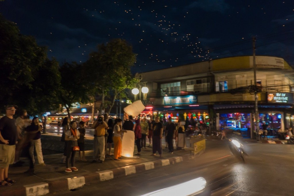 Loi Krathong Chiang Mai