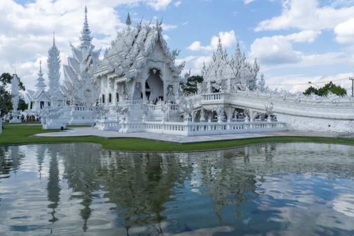 Weißer Tempel in Chiang Rai: Ein Ausflug zum Wat Rong Khun