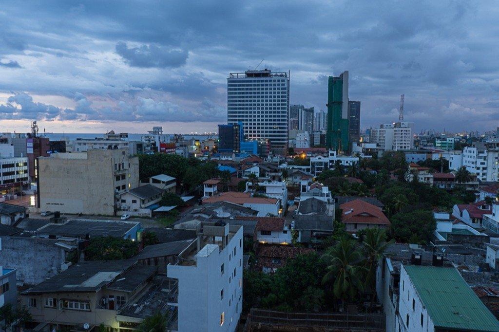 Aussicht Colombo