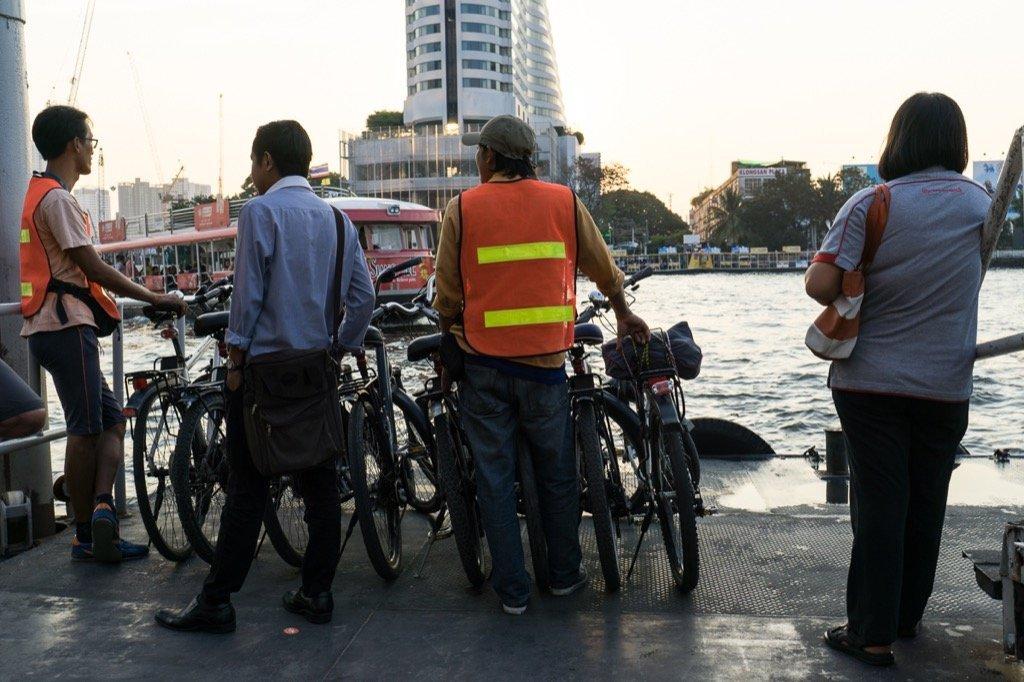 Fahrradtour durch Bangkok