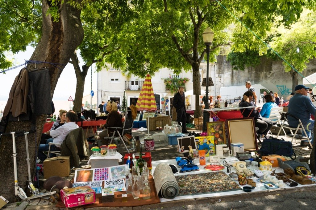 Flohmarkt Feira de Ladra