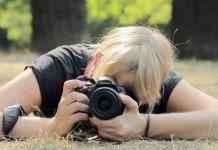 Fotografieren für Anfänger - Jenny beim Fotografieren