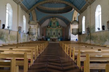 Lazi Kirche von innen
