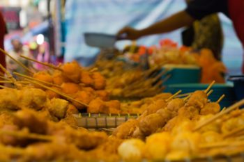 Markt in der Jalan Tuanka Abdul Rahman