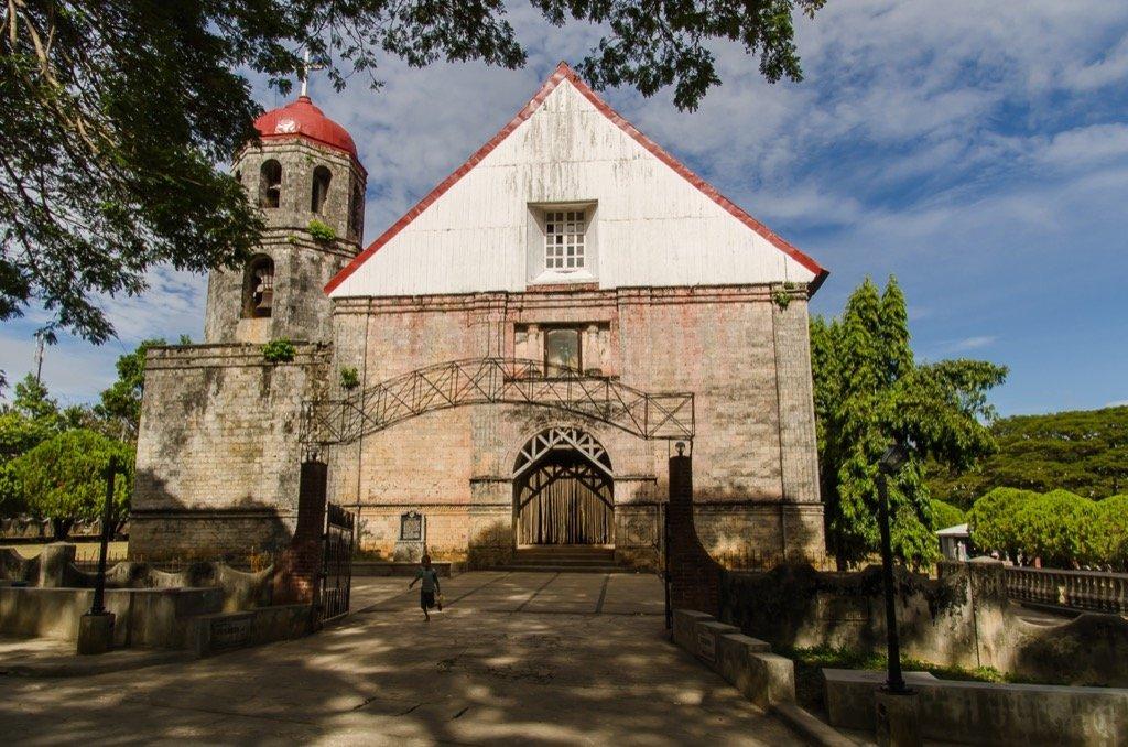 Lazi Kirche von außen
